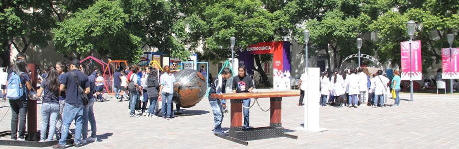 Portada Plaza de la Fisica
